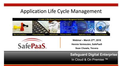 SafePaas- Trevera Webinar