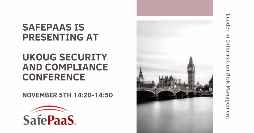 UKOUG Security and Compliance Conference