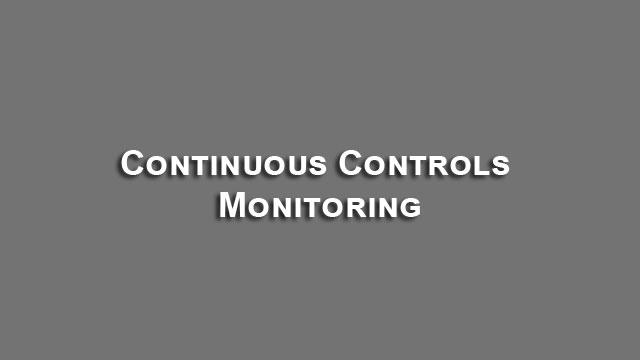 Continuous Controls