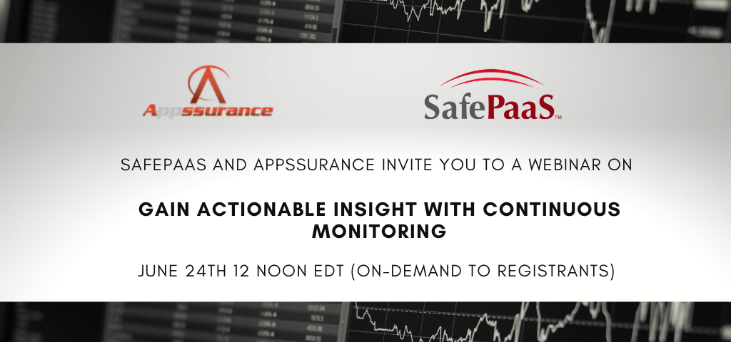 Gain Actionable Business Insight with Continuous Monitoring