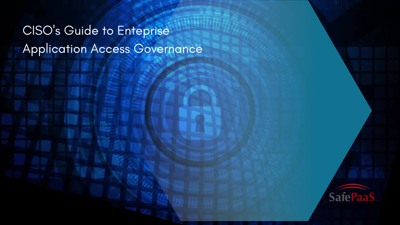 Enterprise Application Access Governance
