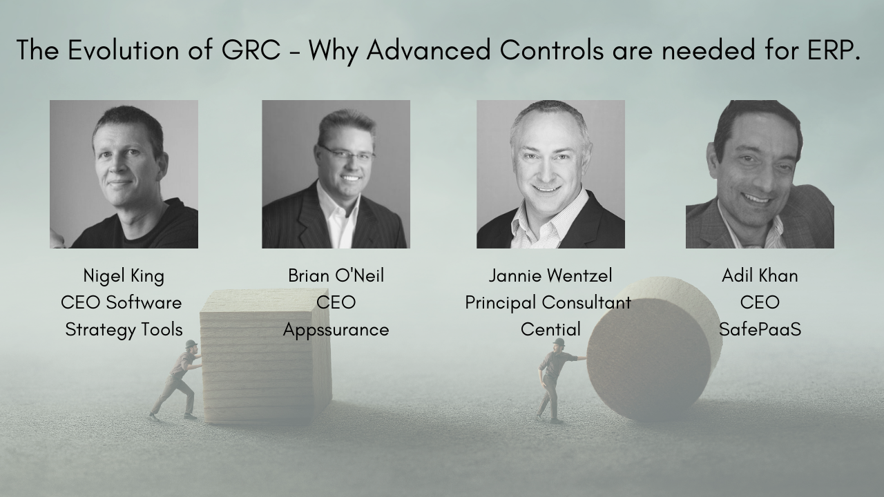 The birth of Oracle GRC