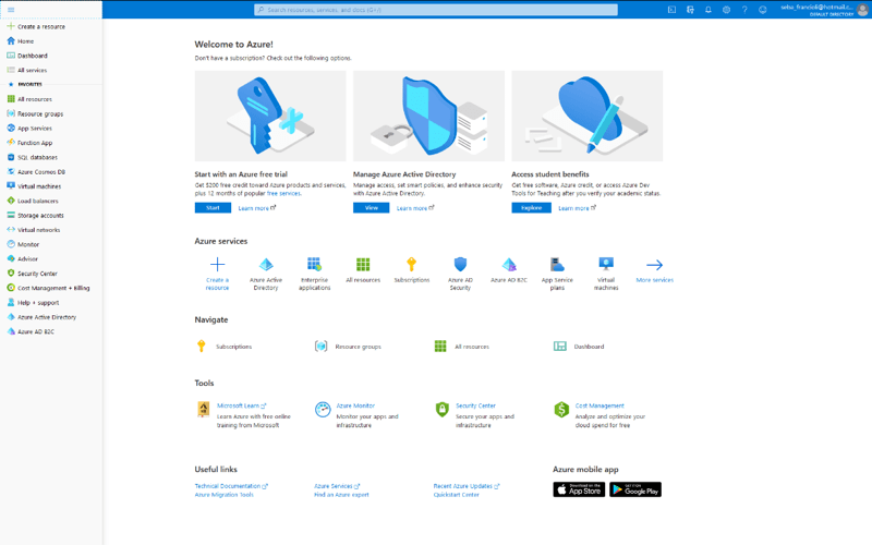 Azure Active Directory Single Sign On