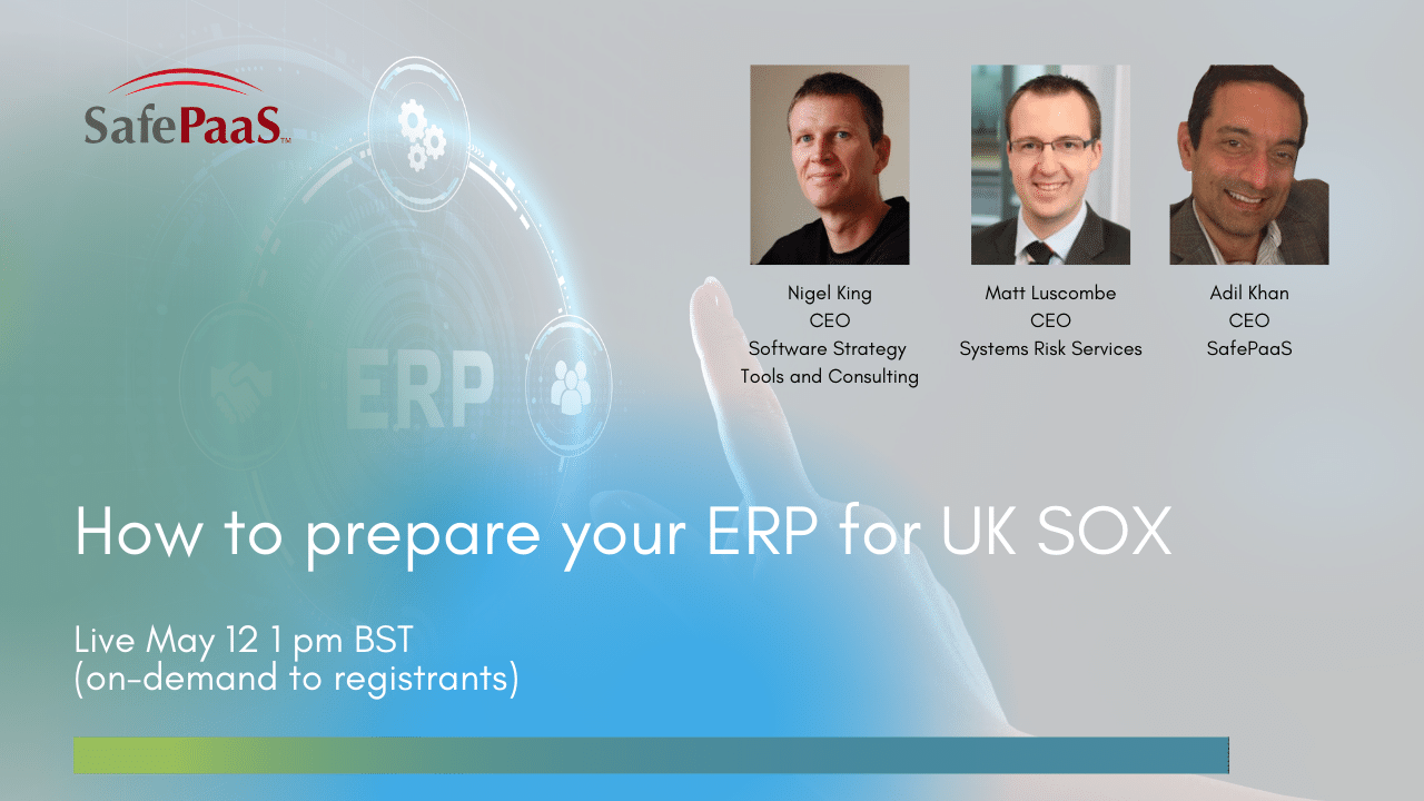 Prepare your ERP for UK SOX