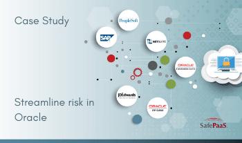 Streamline risk in Oracle case study