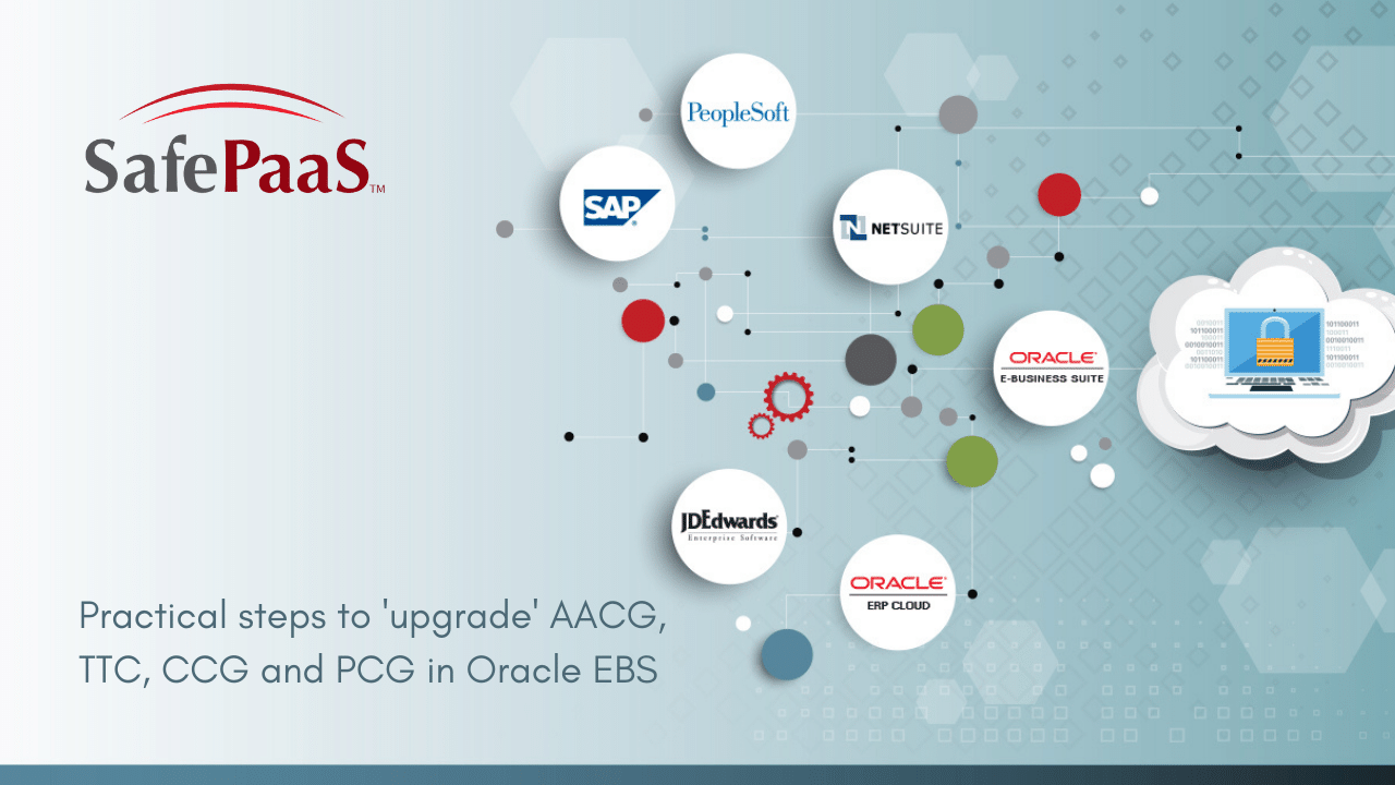 Upgrade Oracle AACG